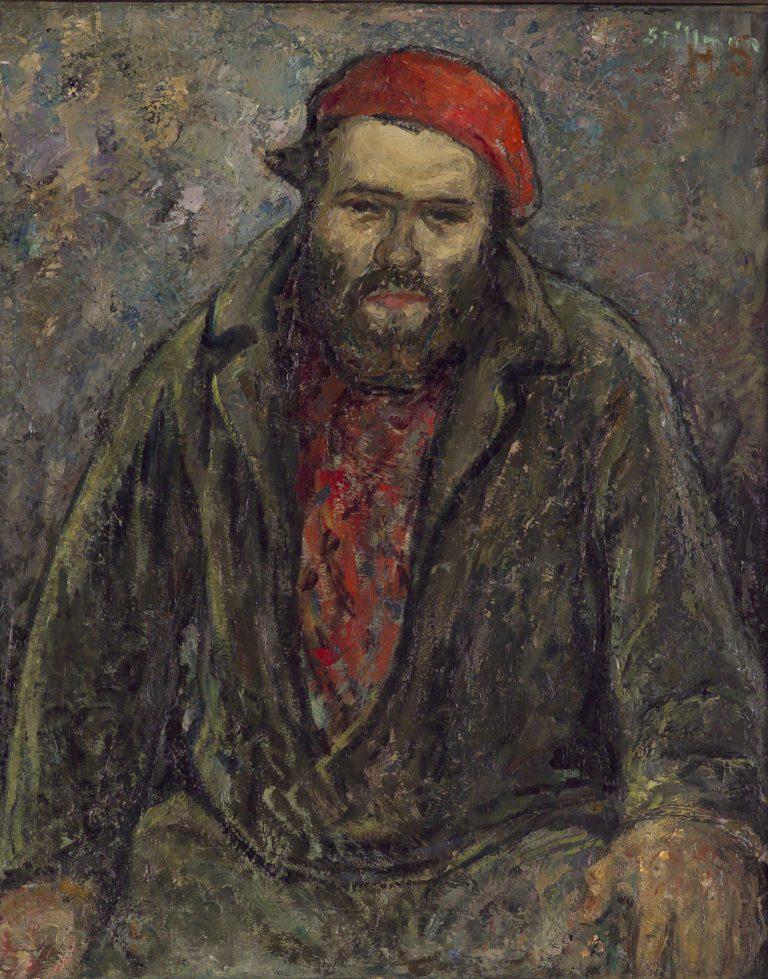 L'Homme Au Chapeau Rouge: Portrait of Carl Gus Nelson
